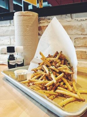 Hopdoddys Parmesan Truffle fries