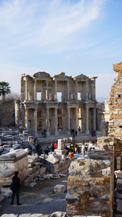 Celsus Library (front view)