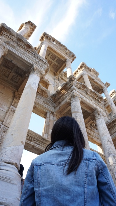 Celsus Library (seen from below)