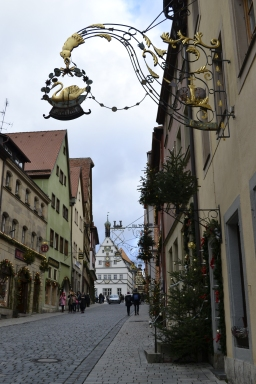 Rothenburg Christmas morning
