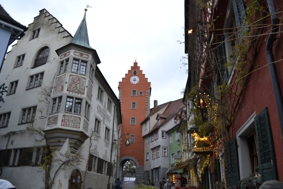 Meersburg in Winter