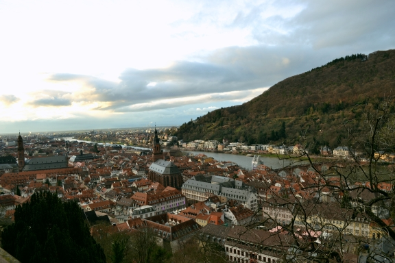Heidelberg in Winter