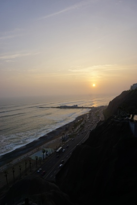 Miraflores sunset