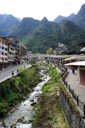 En route to Machu Picchu