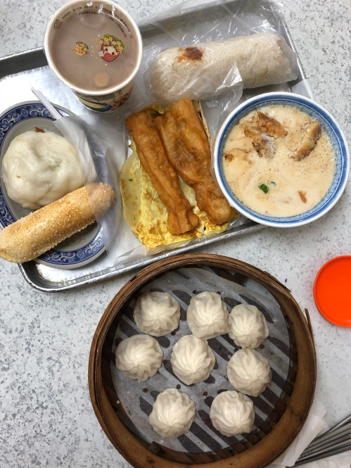 Taiwanese breakfast food