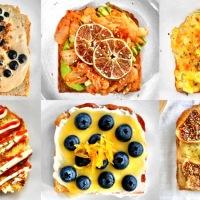 6 Vegetarian Toast Recipes (Video)